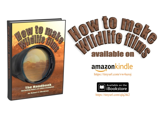 How to make Wildlife films iBooks and Amazon URL Poster